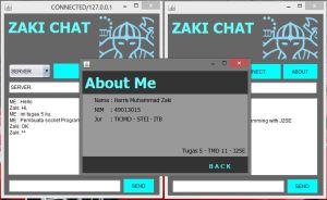 Zaki Chat Tugas 5 J2SE 1